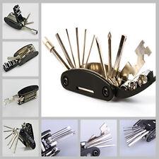 Motorcycle Bike Travel Repair Spoke Tool Allen Key Multi Hex Wrench Screwdriver