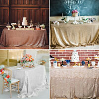 Sequin Glitter Tablecloth Rectangle Table Cloth Cover For Banquet Party Wedding