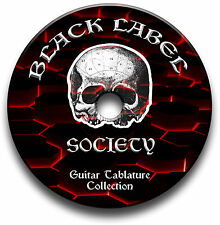 BLACK LABEL SOCIETY ROCK HEAVY METAL GUITARE TABLATURE TABLATURE LIVRE MUSICAL
