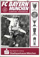 EC I 80/81 FC Bayern München - FC Liverpool, 22.04.1981, Semi Final