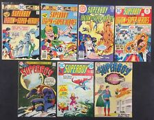 Superboy Comics (Lot of 7) Vintage 1962-79