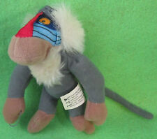 "Lion King II Simba's Pride Plush RAFIKI 4 3/4"" McDonalds Disney"