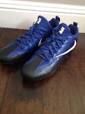 New Nike Vapor Untouchable Pro Men's Football Cleats Size 12 Black And Blue $119