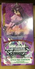 Weiss Schwarz BAKEMONOGATARI Booster Box English FACTORY SEALED x1