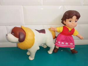 Lot Figurine poupée Heidi et son chien Famosa studio 100 15cm