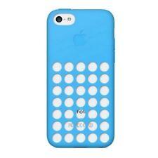 Apple Custodia Originale MF035ZM/A Slim Cover Silicone Case Blu per IPHONE 5C