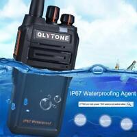 Professional IP67 Waterproof 18W High Power Walkie Talkie Handheld Two Way Radio