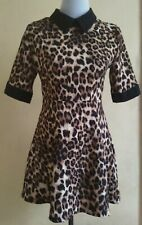 DressNStyle NWOT Designer Animal Leopard Tiger Print Formal Casual Mini Dress