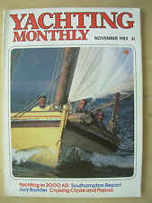 YACHTING MONTHLY MAGAZINE NOVEMBER 1983 No 927