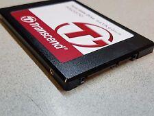 """2.5 """" 128GB TRANSCEND ssd370 Solid State Drive SATA 6GB / S ts128gssd370 128GB SSD"""