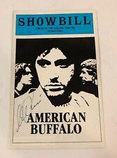 American Buffalo - Theatre Playbill -  Al Pacino RARE FULL SIGNATURE Hand Signed