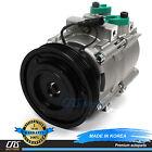 New A/C Compressor w/ Clutch 58187 HS18 Fits 2001-2004 Hyundai Santa Fe 2.4L