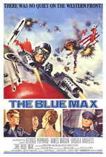 THE BLUE MAX Movie POSTER 27x40 George Peppard James Mason Ursula Andress Jeremy