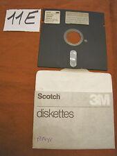 Floppy disc 5.25 inch 5 1/4 Commodore 64 Scotch 3M giochi G/E 2A lato a-b popeye