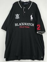 Polo Ralph Lauren BLACKWATCH POLO TEAM BIG PONY Shirt Men's Tall Size 4XLT