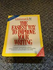Vintage Grammatik IV 1989 Improve Your Writing complete set, unopened