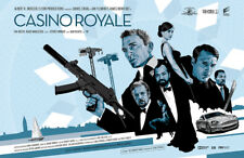"James Bond 007   Daniel Craig   Casino Royale   Fan Art 17 x 11"" Print"