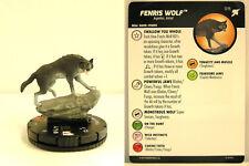 Heroclix - #015 Fenris Wolf - Thor Ragnarok Movie Set