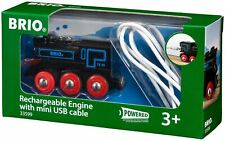 Brio RECHARGEABLE ENGINE WITH MINI USB CABLE Wooden Toy Train BN