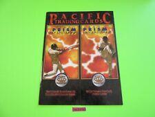 1997 PACIFIC TRADING CARDS PRISM INVINCIBLE PROMO FOLDER