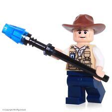 LEGO Jurassic World MiniFigure - Vet (Hat Fedora)  Set 75919