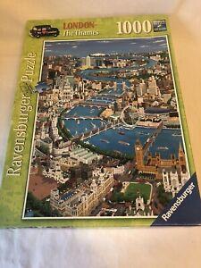 "1000 Piece Jigsaw Puzzle ""London The Thames"" Ravensburger"
