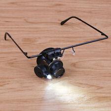Precision Watch Jewellery Eyewear Magnifying Glass Office Repair Tools Kits