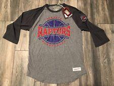 Nwt's Mitchell & Ness Raglan Toronto Raptors NBA Shirt Men's Small/Medium