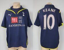 Tottenham Hotspur 2009 2010 away football shirt PUMA Keane 10 size M