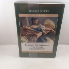 Museum Masterpieces The Louvre Fine Arts Music Course Guidebook 2 DVDs Brettell