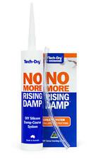 Tech-Dry No More Rising Damp Cartridge  DIY Cream Damp Course