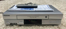 New listing Panasonic Pv-4525S Vhs Vcr Player Recorder w/ Remote and Rca Cable HiFi 4 Head