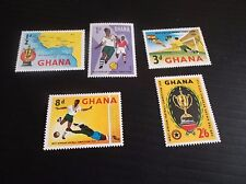 GHANA 1959 SG 228-232 FOOTBALL COMPETITION MNH