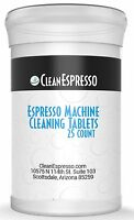 25 pack of Jura Capresso Espresso Machine Universal Cleaning Tablet     Cleaner
