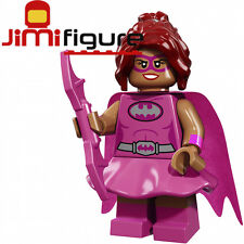 NEW LEGO Minifigures Pink Power Batgirl The Batman Movie 71017 Genuine Figure