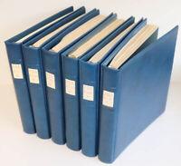 DDR 1949 bis 1990 postfrisch komplett in 6 Lindner-T-Alben, viele Zusammendrucke