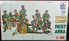 VINTAGE ESCI ERTL CRAFT MODELS GERMAN CAMP REST AREA 1/35 SCALE SEALED BOX