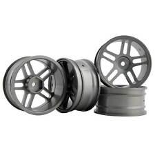 RC Aluminum Wheel 4pc D:52mm W:26mm Fit HSP HPI 1:10 On-Road Drift Car Rim 122T