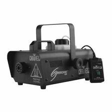 Chauvet DJ Hurricane 1000 Smoke Fog Machine  Wireless Remote + 3.5L Fog Liquid