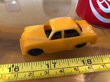 Triang Tri Ang Mini England Rare Vintage Toy Car Brown Orange Metal Inards