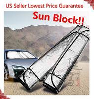Auto Car Sun Shade Foldable Metallic Visor Wind Shield Reflective Shade