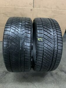 245 35 ZR 19 93W XL M+S Continental ConiWinterContact Ts830P 2x Tyres A Pair