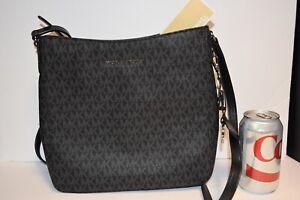 MICHAEL KORS JET SET TRAVEL Large Messenger Handbag Purse Bag! NEW