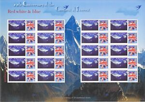 GB 2008 - Conquest Of Mount Everest - Themed Smilers sheet - TS-320