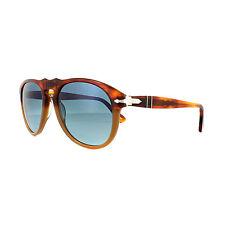 Persol Sunglasses 0649 1025S3 Resina e Sale Brown Blue Polarized 54mm