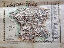 Francia/ France, mapa original de Tomás López,1793