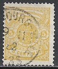 Luxembourg 1880 MI 39A  CANC  VF
