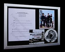 KILLERS Reasons Unknown LTD CD QUALITY FRAMED DISPLAY+EXPRESS GLOBAL SHIPPING!!