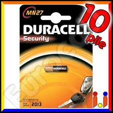 10x Duracell Mn27 Best Before 2019 MHD Terminali 2019