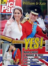 French Magazine 2011:  KATE MIDDLETON and Prince WILLIAM royal wedding !